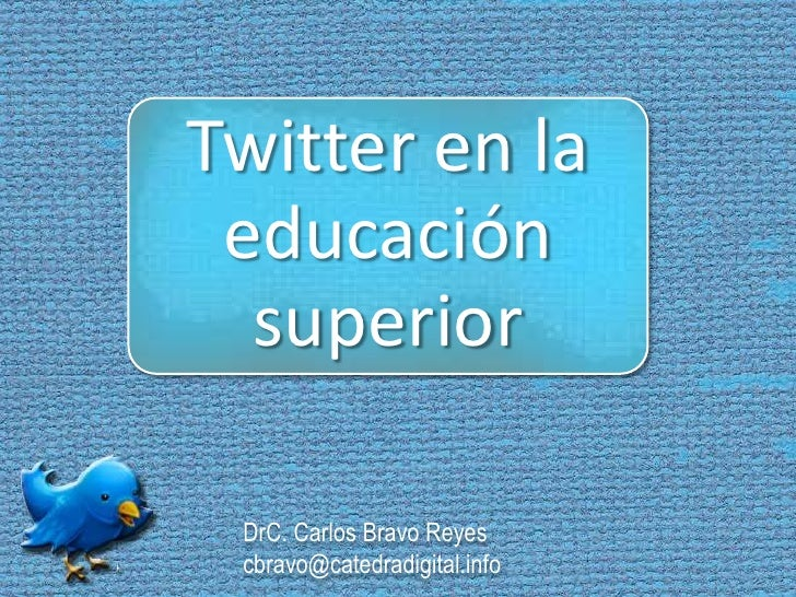 DrC. Carlos Bravo Reyescbravo@catedradigital.info<br />