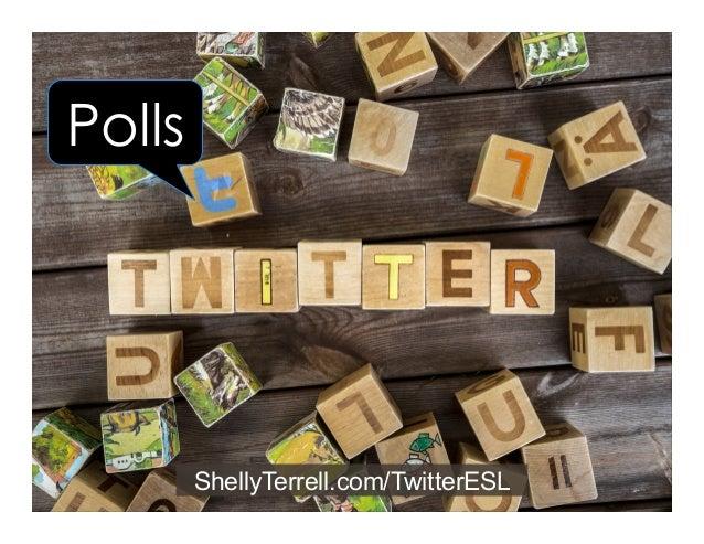ShellyTerrell.com/TwitterESL Twitter Chats