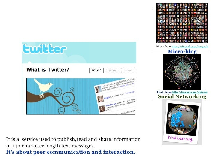 Twitter & Flickr in 5 Minutes Slide 2