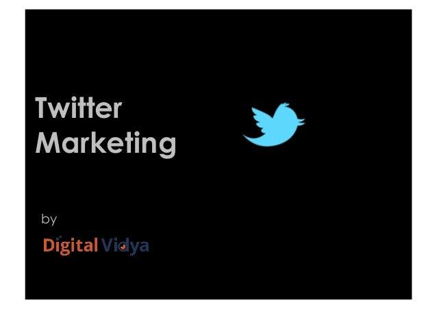 Twitter Marketing by