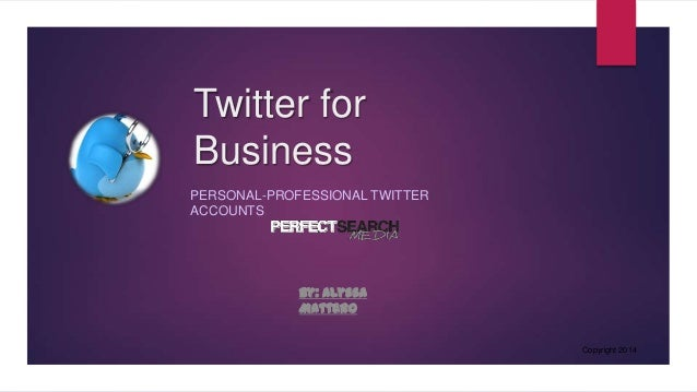 how to change a personal twitter account to business