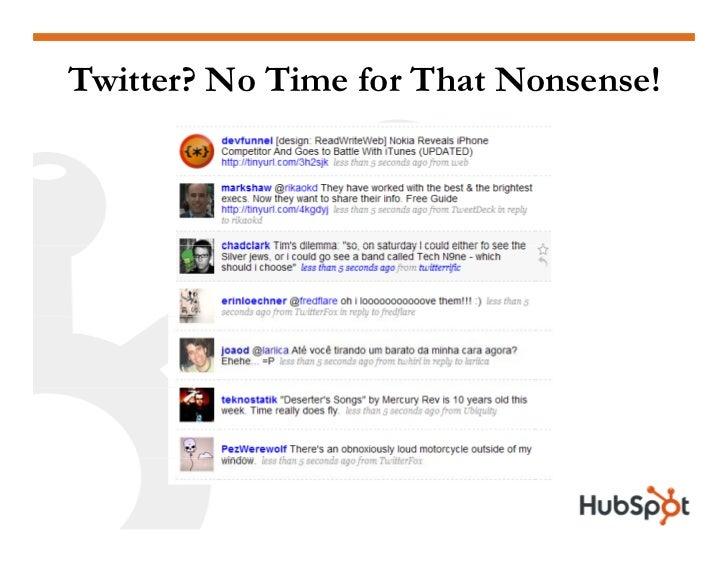 Twitter for Marketing and PR Slide 13