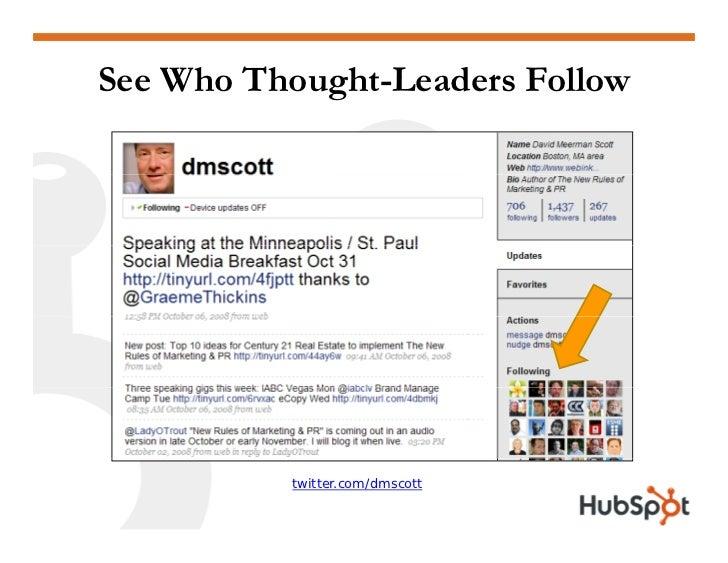 Twitter for Marketing and PR Slide 24