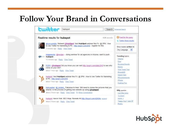 Twitter for Marketing and PR Slide 31