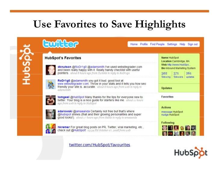 Twitter for Marketing and PR Slide 33