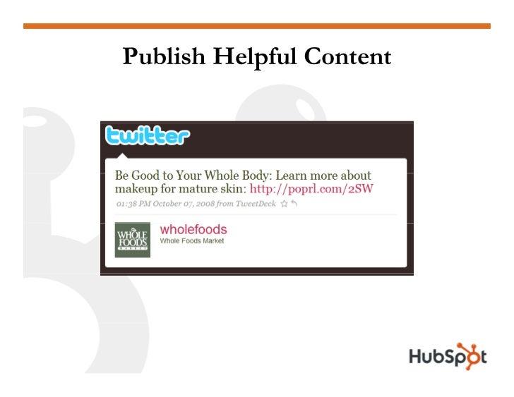 Twitter for Marketing and PR Slide 35