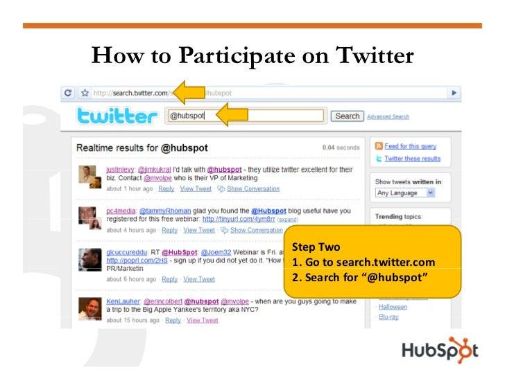 Twitter for Marketing and PR Slide 4