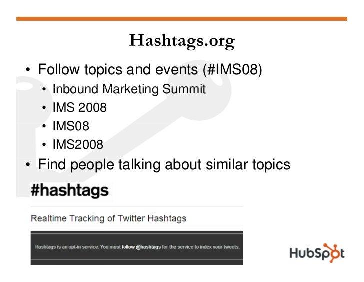 Twitter for Marketing and PR Slide 50