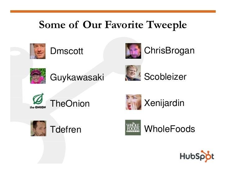 Twitter for Marketing and PR Slide 52