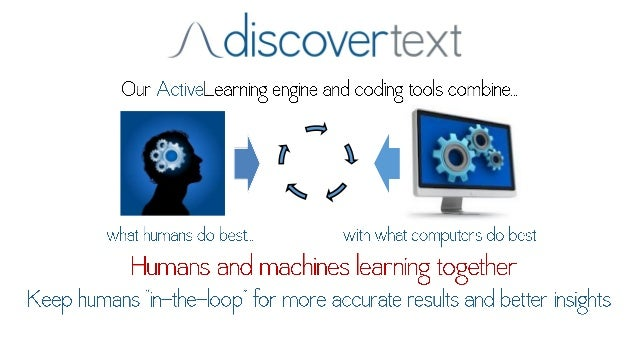 """/ oliscoverte><""""'  Our ActiveLearning engine and coding tools ccgmbine.   we  Z?  $ 7 A   I r R w ,    what humans do with..."""