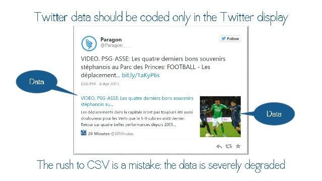 Twitter data should be coded only in the  d_ignIg, I  Paragon Follow ii' P.1r. i< ioi i_  VIDEO.  PSG—ASSE:  Les quatre de...