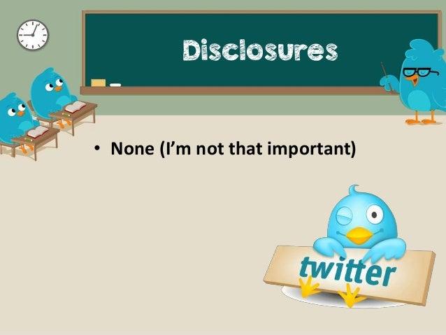 Twitter for Rheumatologists Slide 2