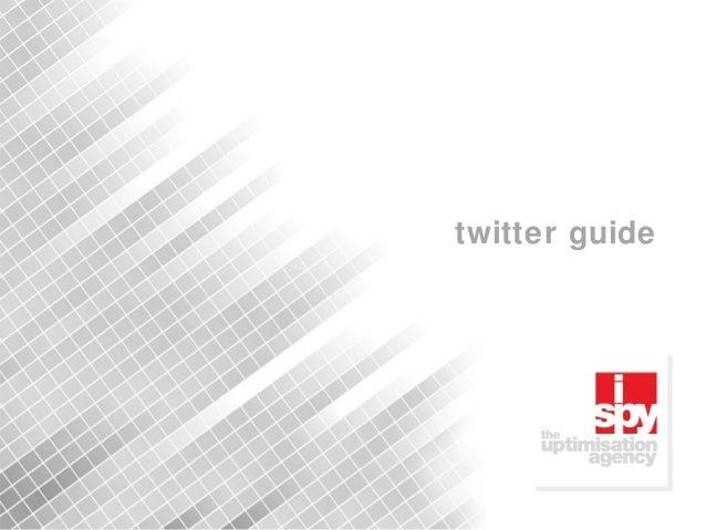 1 twitter guide