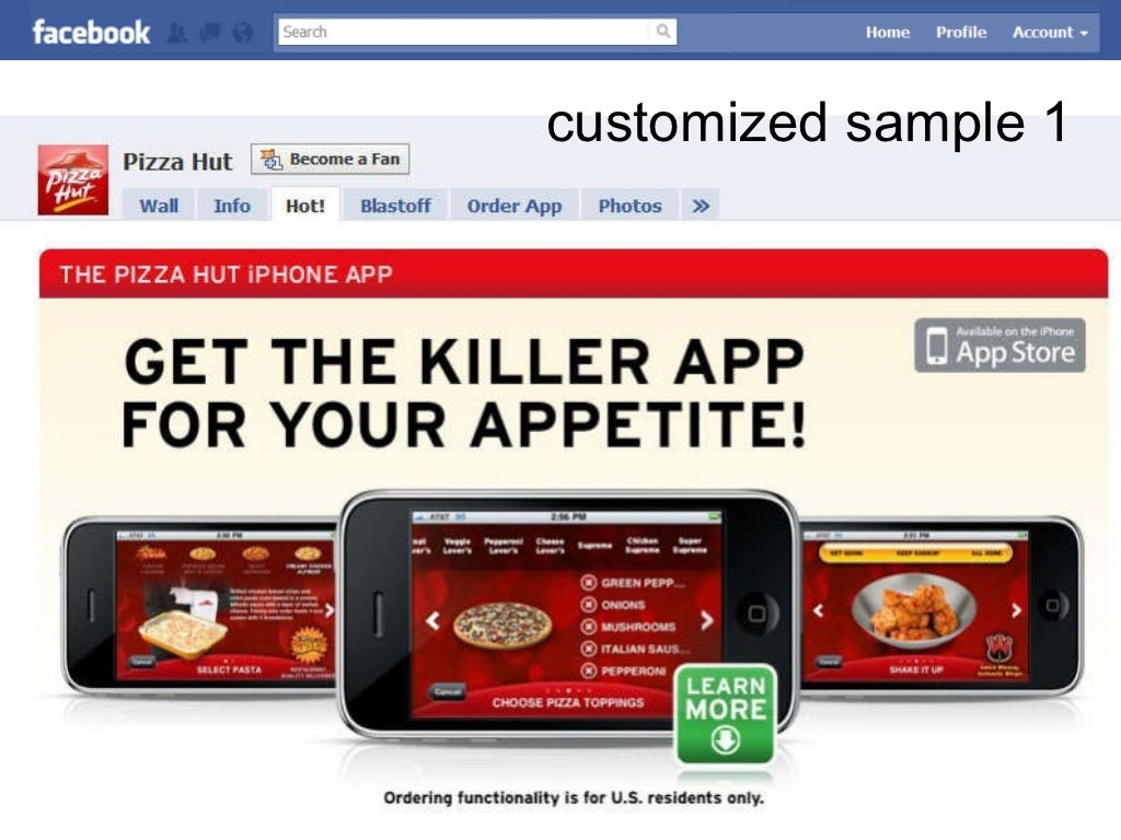 how to set up a slide show ad facebook