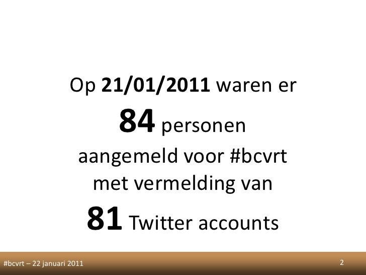 Twitter in belgium Slide 2