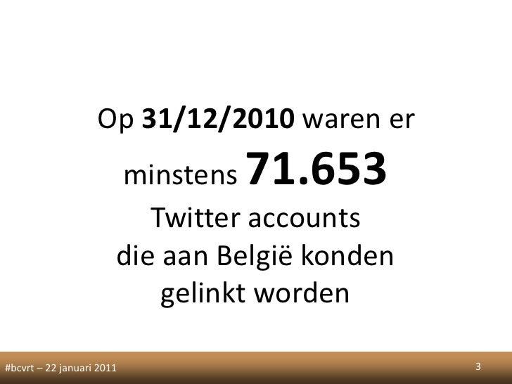 Twitter in belgium Slide 3