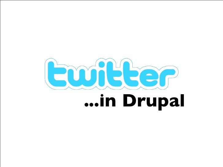...in Drupal
