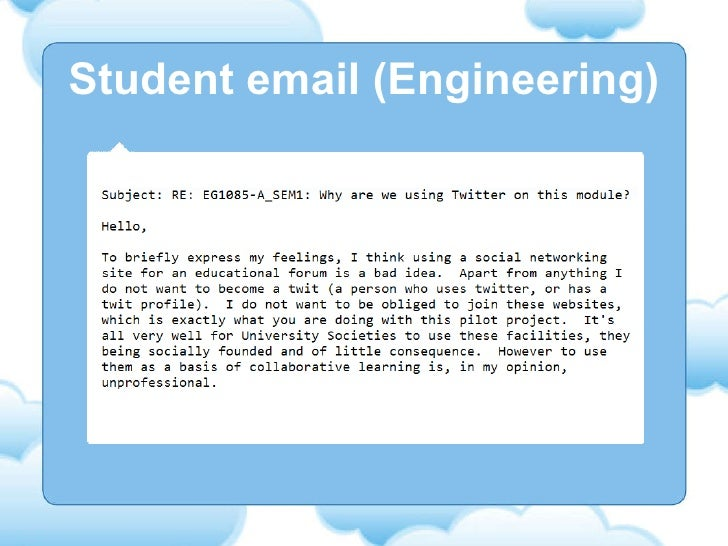 Student email (Engineering)