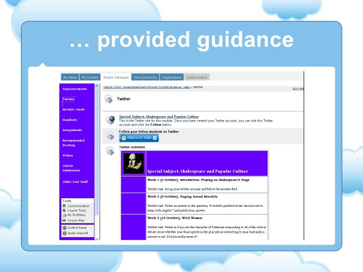 …  provided guidance