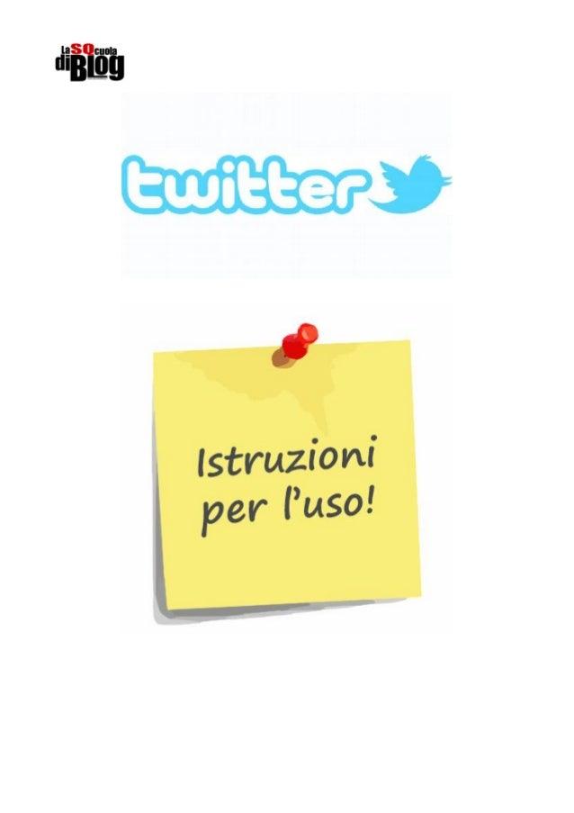 Premessa: Usare Twitter è molto facile e divertente: hai a disposizione 140 caratteri per esprimere i tuoi pensieri, condi...