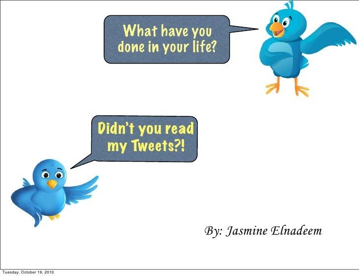 Twitter lesson