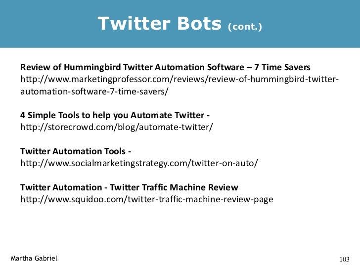 TweetBook                         http://tweetbook.in/                    Cria um pdf dos seus tweets – excelente para bac...