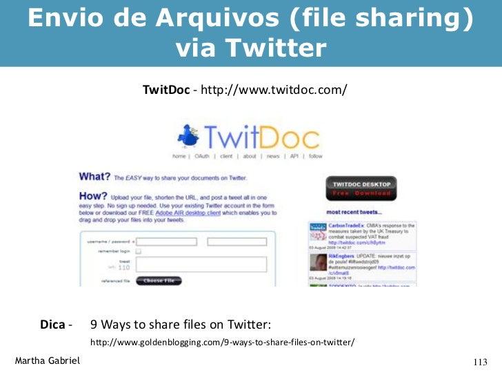 Screencast de Vídeo no Twitter                  Screenr: http://screenr.com/     Martha Gabriel                           ...
