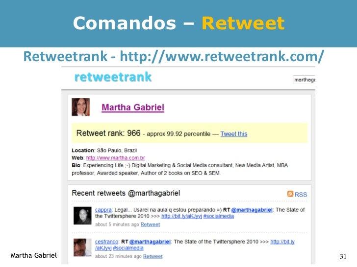 Twitter's Trending Topics      Trending topics (ou TT) são itens identificados como sendo     altamente populares ou recen...