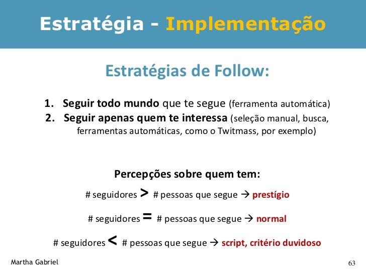 Estratégia para conseguir          followers relevantes                  1. Link sua conta no Twitter (no seu blog, site, ...