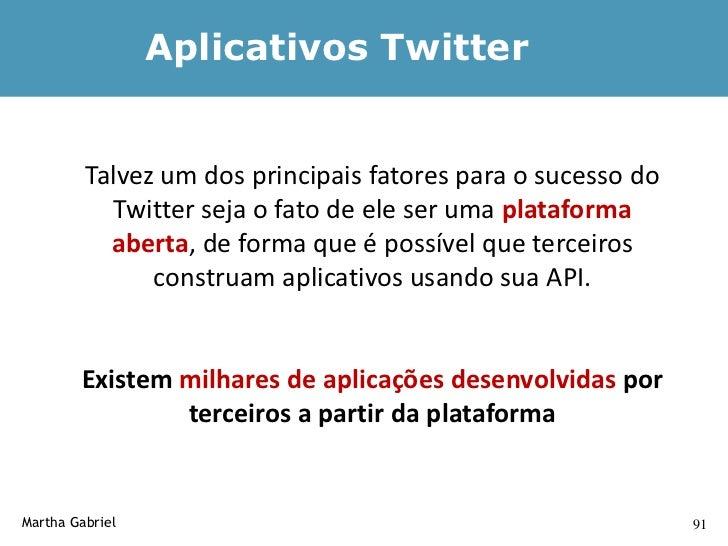 Ferramentas de Métricas      TwitterCounter – (twittercounter.com)      TwitGraph (twitgraph.com): informações sobre os di...