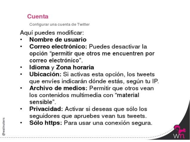 Novedad: Tu archivo de Twi:er         La opción de descargar los tweets está disponible en los    ajustes del pe...