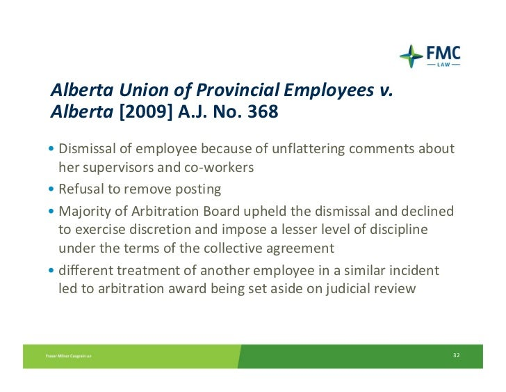 Twitter on the use of social media by bargaining unit and non union e alberta platinumwayz