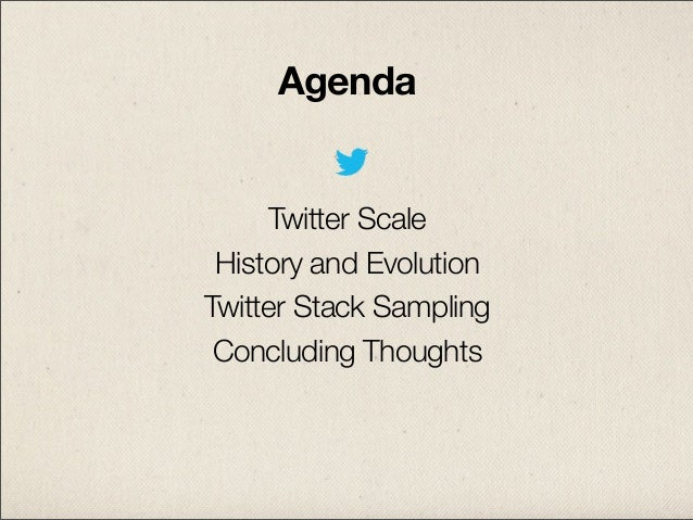 Evolution of The Twitter Stack