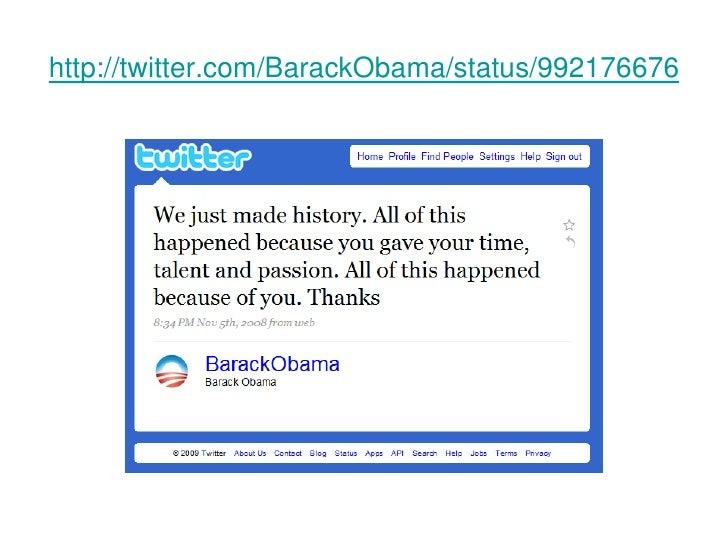 http://twitter.com/BarackObama/status/992176676<br />