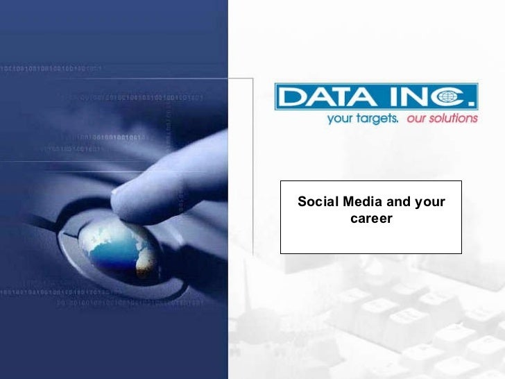 Twitter Social Media and your career