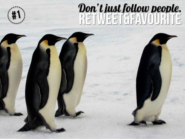 50 random Twitter tips for business Slide 2