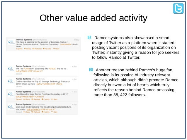 twitter case analysis A case-study for sentiment analysis on twitter paolo fornacciari, monica  mordonini and michele tomaiuolo dipartimento di ingegneria dell'.