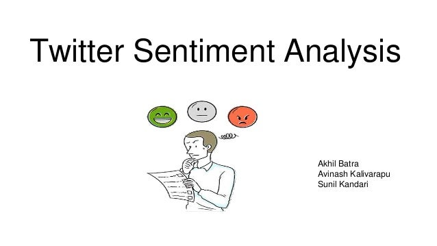 twitter sentiment analysis