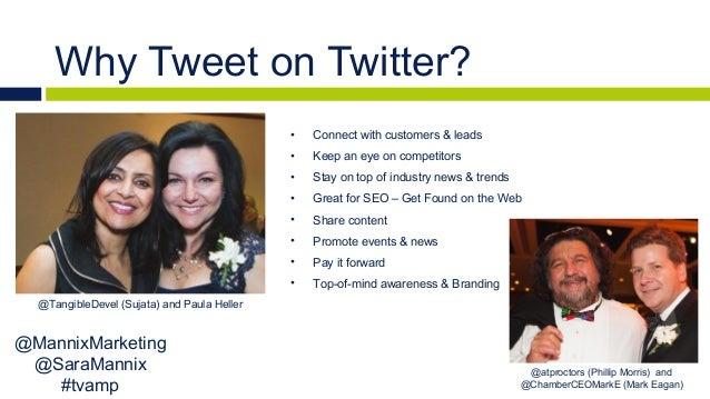 Interactive Twitter Workshop by Mannix Marketing #tvamp