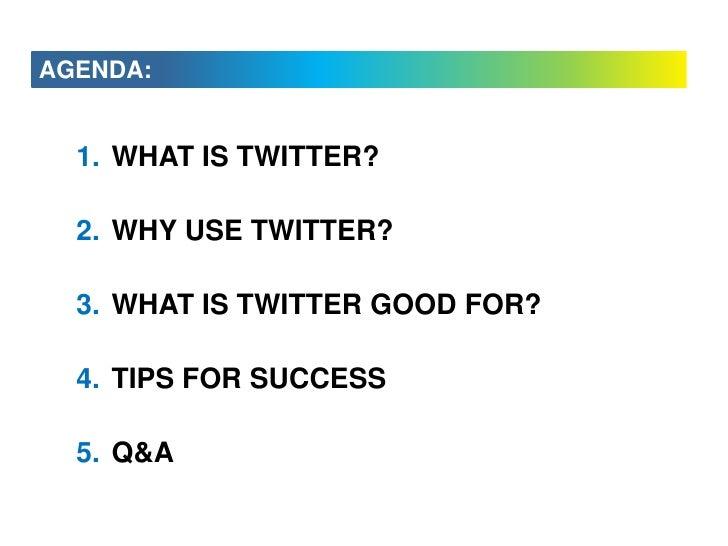 Twitter Tips for Business - August 2009 Slide 2