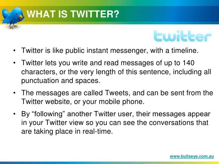 Twitter Tips for Business - August 2009 Slide 3