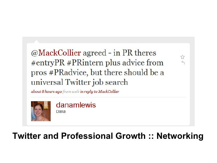 Twitter and Professional Growth :: Networking