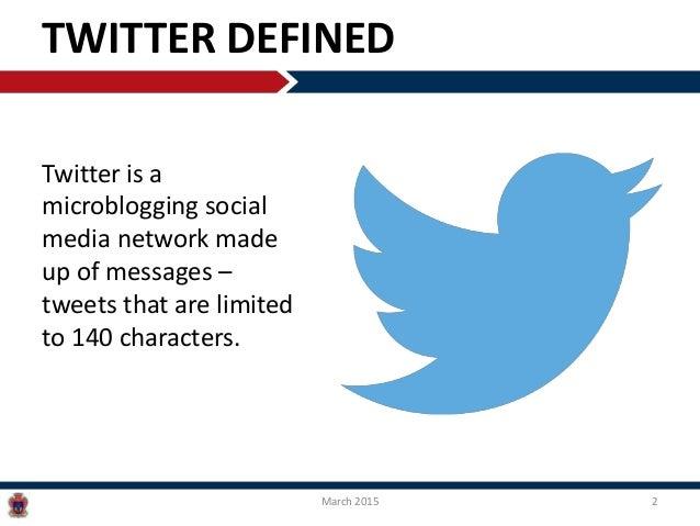 Twitter: The Basics Slide 2