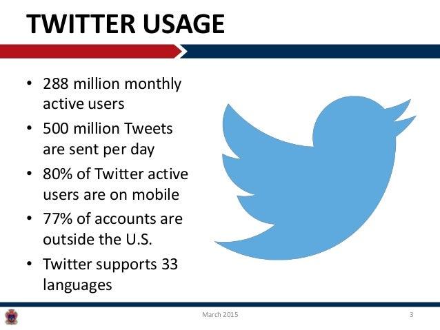 Twitter: The Basics Slide 3