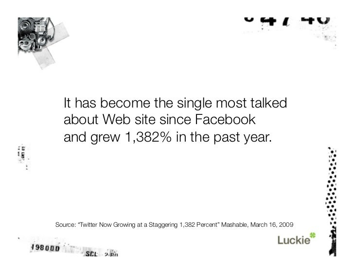 Then Twitter grew 43% with the addition of just one user.