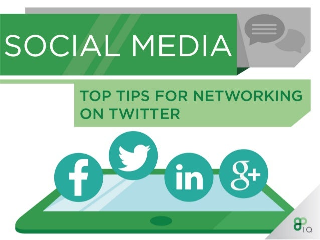 Top Tips For Networking On Twitter
