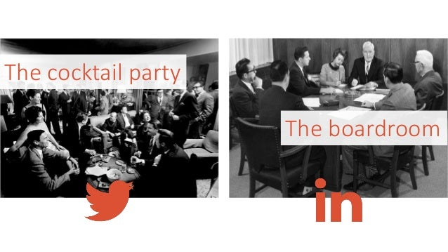 The cocktail party The boardroom