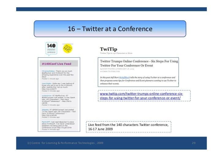 16– TwitterataConference                                                            www.twitip.com/twitter‐trumps‐onli...