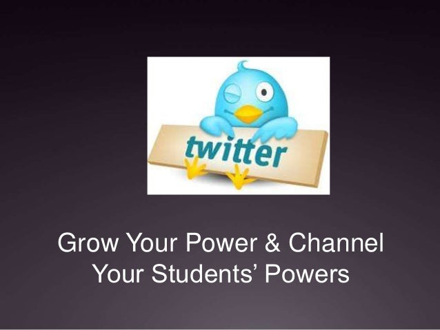 Grow Your Power & Channel  Your Students' Powers
