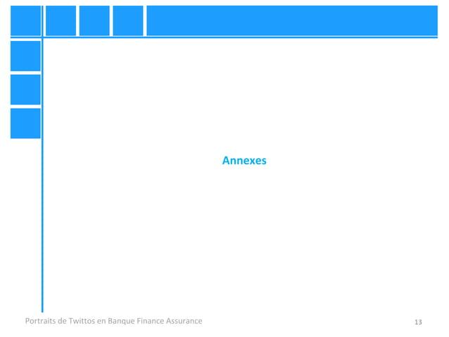 13 Annexes Portraits de Twittos en Banque Finance Assurance